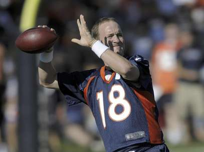 Peyton Manning's debut with the Broncos is one of the highlights of the pre season. Foto: Jack Dempsey / AP