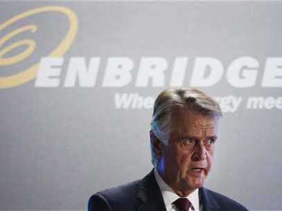 Enbridge Inc. CEO Patrick Daniel speaks during their annual general meeting for shareholders in Toronto, May 9, 2012. Foto: Mark Blinch / Reuters In English