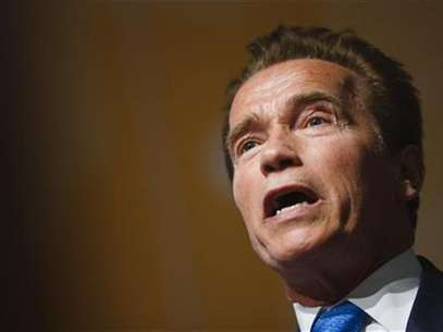 Former California Governor Arnold Schwarzenegger attends the Road to Rio meeting ahead of the UN Conference on Sustainable Development at the CICG in Geneva March 7, 2012. Foto: Valentin Flauraud / Reuters In English