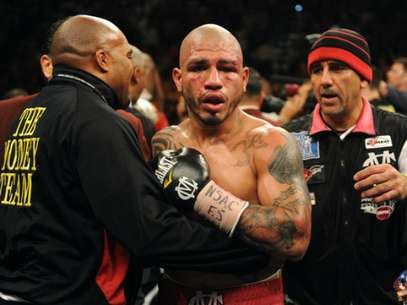 Cotto cay en su ltimo combate ante Floyd Mayweather. Foto: Getty Images