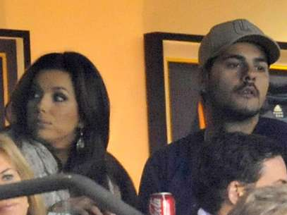 Eva Longoria and Eduardo Cruz at the MLS cup in Carson, California  on November 20, 2011.  Foto: Getty Images