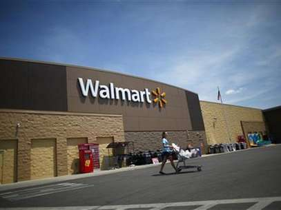 A Walmart store is seen in Joplin, Missouri May 17, 2012. Foto: Eric Thayer / Reuters In English