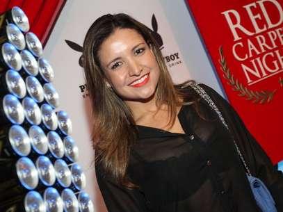 A ex-BBB Natalia foi uma das convidadas do evento Foto: Anderson Borde  / AgNews