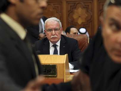 Palestinian Foreign Minister Riyad al-Malki attends the opening of a meeting of Arab League foreign ministers at the Arab League headquarters in Cairo April 26, 2012. Foto: Mohamed Abd El Ghany / Reuters In English