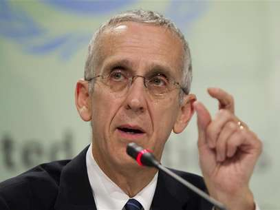 U.S. Envoy for Climate Change Todd Stern speaks during a news conference at the Conference of the Parties (COP17) of the United Nations Climate Change Conference (UNCCC) in Durban December 5, 2011. Foto: Rogan Ward / Reuters In English