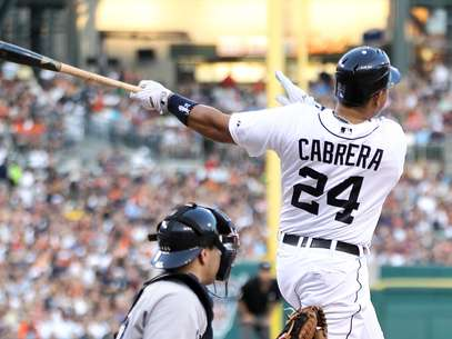 MIguel Cabrera continues to shine with the Tigers.  Foto: AP in English