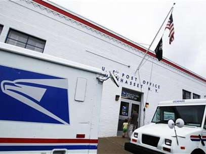 The entrance of a United States Post Office is seen in Manhasset, New York August 1, 2012. Foto: Shannon Stapleton / Reuters In English