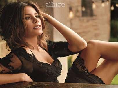 Sofia Vergara disse que a idade transformou seu corpo e que, tanto os seios quanto o bumbum, diminuíram  Foto: Divulgação