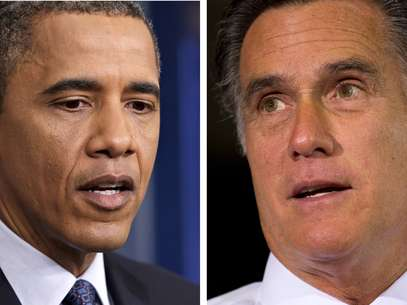 Obama y Romney, muy cerca en las encuestas. Foto: AP