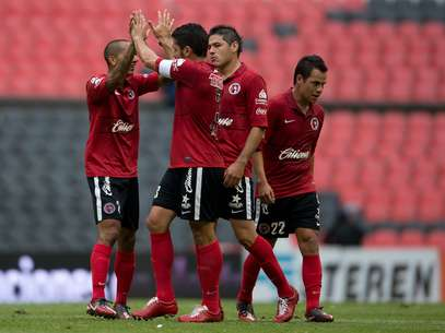Tijuana celebrates after scoring the first and only goal of the game Foto: Mexsport