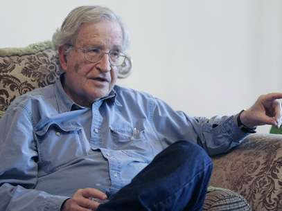 Noam Chomsky, el conocido linguista, escritor e intelectual habl con Terra en exclusiva. Foto: Getty Images