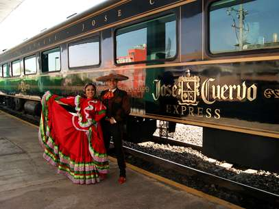 Jos Cuervo Express ser parte de una gran fiesta mexicana en un recorrido especial el sbado 15 de septiembre para celebrar a Mxico. Foto: Jos Cuervo Express