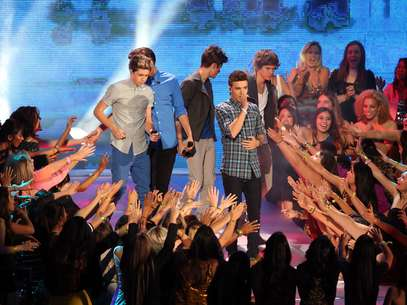 One Direction fueron tratados como dioses en los MTV VMA's Foto: Getty Images