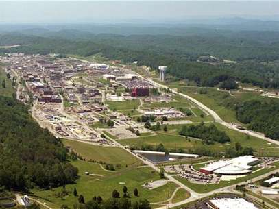 An aerial view of the Y-12 Plant in Oak Ridge, Tennessee is seen in this U.S. government handout photo released on August 3, 2012. Foto: Handout / Reuters In English