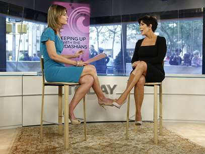 "Savannah Guthrie interviews Kris Jenner on the September 11th, 2012 edition of the ""Today"" show. Foto: Peter Kramer/NBC"