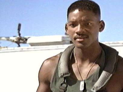Imagen de la cinta 'Independence Day' protagonizada por Will Smith Foto: Divulgavión