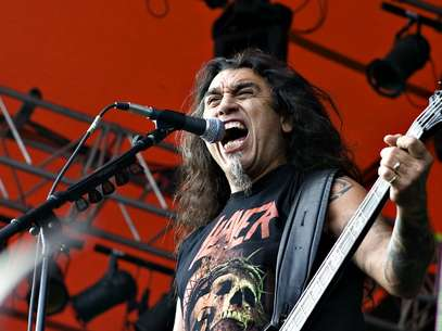 Slayer con su lder Tom Araya Foto: AFP