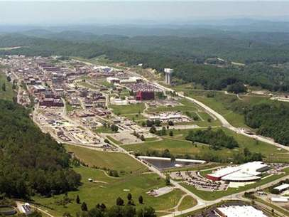 An aerial view of the Y-12 Plant in Oak Ridge, Tennessee is pictured in this U.S. government handout photo, received by Reuters August 3, 2012. Foto: Handout / Reuters In English