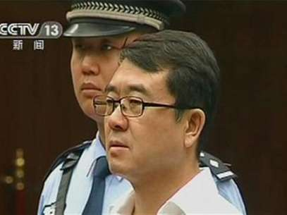 Former police chief Wang Lijun attends a court hearing in Chengdu in this still image taken from video September 18, 2012. Foto: CCTV via Reuters TV / Reuters In English