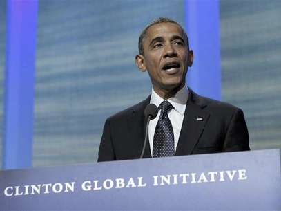 U.S. President Barack Obama delivers remarks at the Clinton Global Initiative in New York September 25, 2012. Foto: Jason Reed / Reuters In English