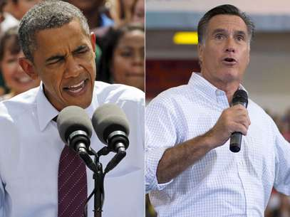 Obama y Romney se medirn cara a cara en su primer debate presidencial rumbo al 6 de noviembre. Foto: AP