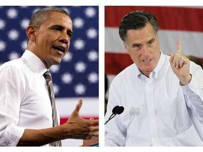 Obama y Romney ya estn en la recta final de la campaa presidencial. Foto: AP