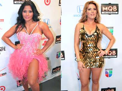 Maripily y Alicia Machado, las problemticas de 'Mira Quin Baila'? Foto: Mezcalent