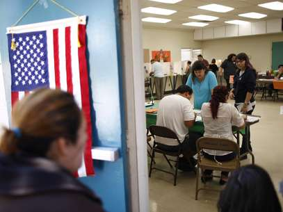 Californians go to the voting booths on Tuesday, November 6. Foto: Getty Images
