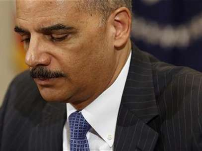 U.S. Attorney General Eric Holder during a meeting at the White House in Washington, July 26, 2012. Foto: Larry Downing / Reuters