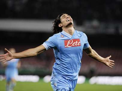Edinson Cavani was a one-man show for Napoli Thursday. Foto: Getty Images
