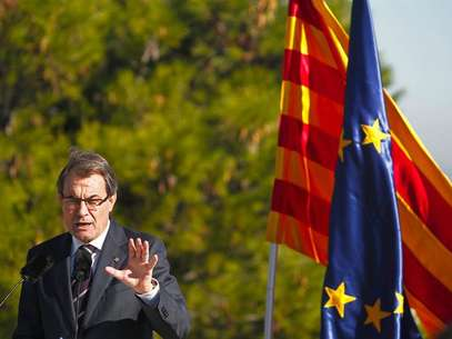 Artur Mas, durante un acto de precampaa Foto: EFE en espaol