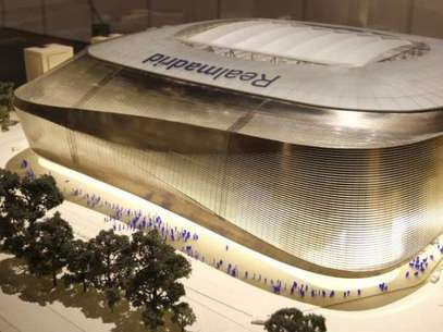 This is what the refurbished Bernabeu would look like.  Foto: Web