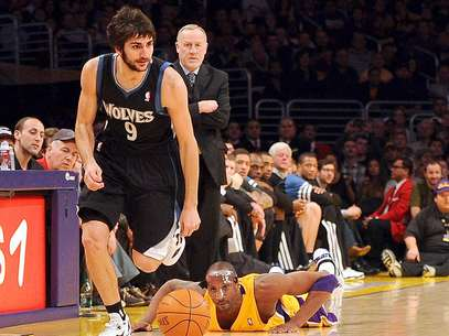 Ricky Rubio, jugador español de los Timberwolves de Minnesota Foto: Harry How / Getty Images