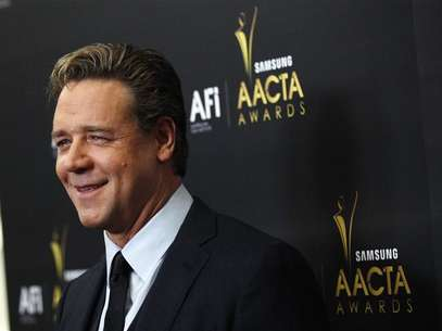 Actor Russell Crowe poses at the Australian Academy of Cinema and Television Arts Awards in West Hollywood, California January 27, 2012. Foto: Mario Anzuoni / Reuters