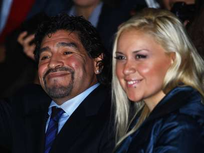 Maradona and Veronica find their relationship at an impasse.  Foto: Getty Images