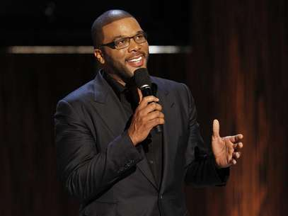 "Actor and director Tyler Perry speaks during the taping of the Spike TV special tribute ""Eddie Murphy: One Night Only"" at the Saban theatre in Beverly Hills, California November 3, 2012. Foto: Mario Anzuoni / Reuters"