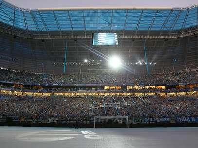 Arena do Grêmio pode receber uma edição do UFC Foto: Lucas Uebel/Grêmio FBPA / Divulgação