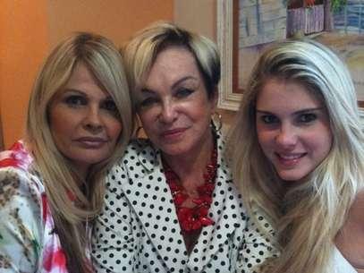 Conceição, Monique e Bárbara Evans Foto: Instagram / Reprodução