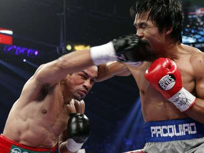 Mrquez noque a Pacquiao en el sexto round Foto: AP