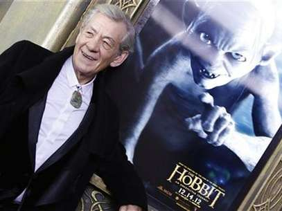 "Cast member Ian McKellen arrives for the premiere of the movie ""The Hobbit: An Unexpected Journey"" in New York December 6, 2012. Foto: Carlo Allegri / Reuters"
