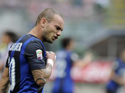 Wesley Sneijder is looking to move out of Inter Milan after refusing to take a pay cut.  Foto: Getty Images