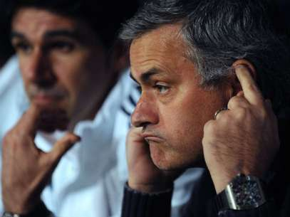 Mourinho said the word quit is not in his vocabulary.  Foto: Getty Images