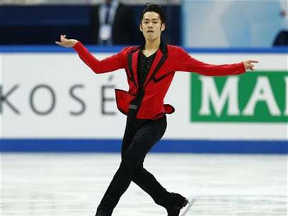 Daisuke Takahashi of Japan performs during the men's short programme at the ISU Grand Prix of Figure Skating Final in Sochi December 7, 2012. Foto: Grigory Dukor / Reuters