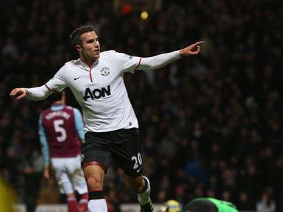 Con un golazo casi al final, Van Persie forzó el replay. Foto: Getty Images