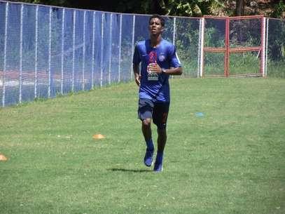 Formado no Bahia, Gabriel é o segundo nome a chegar ao Flamengo em 2013; primeiro será o volante Elias Foto: EC Bahia / Divulgação