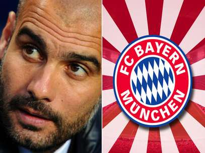 Pep Guardiola will take over at Bayern Munich in July, confirmed the club.  Foto: Getty Images