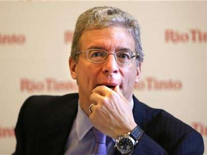Global miner Rio Tinto Chief Executive Tom Albanese is pictured during a news conference in Sydney November 29, 2012. Foto: Tim Wimborne (AUSTRALIA - Tags: BUSINESS COMMODITIES ENVIRONMENT) / Reuters
