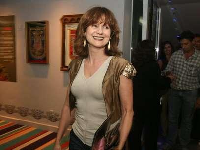 Na segunda-feira (14), Nelson Lopes teve infarto após receber bronca da atriz (foto) Foto: André Muzell  / AgNews