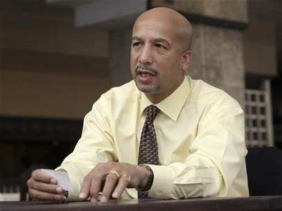 Ray Nagin, Mayor of New Orleans, talks during an interview in Havana October 20, 2009. Foto: Enrique De La Osa / Reuters