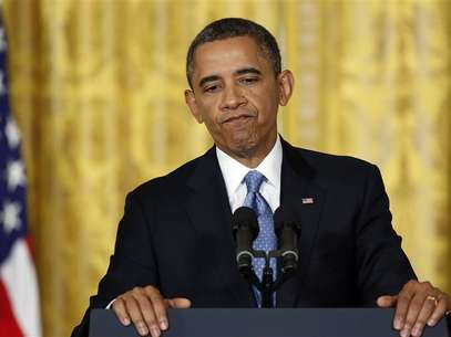 U.S. President Barack Obama pauses during remarks at a news conference at the White House in Washington, January 14, 2013. Foto: Jonathan Ernst / Reuters